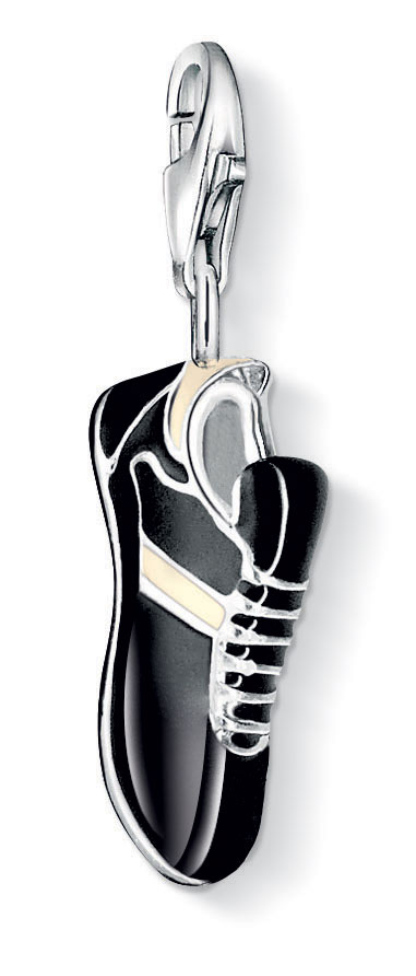 Sterling Silver Football Boots Charm Pendant