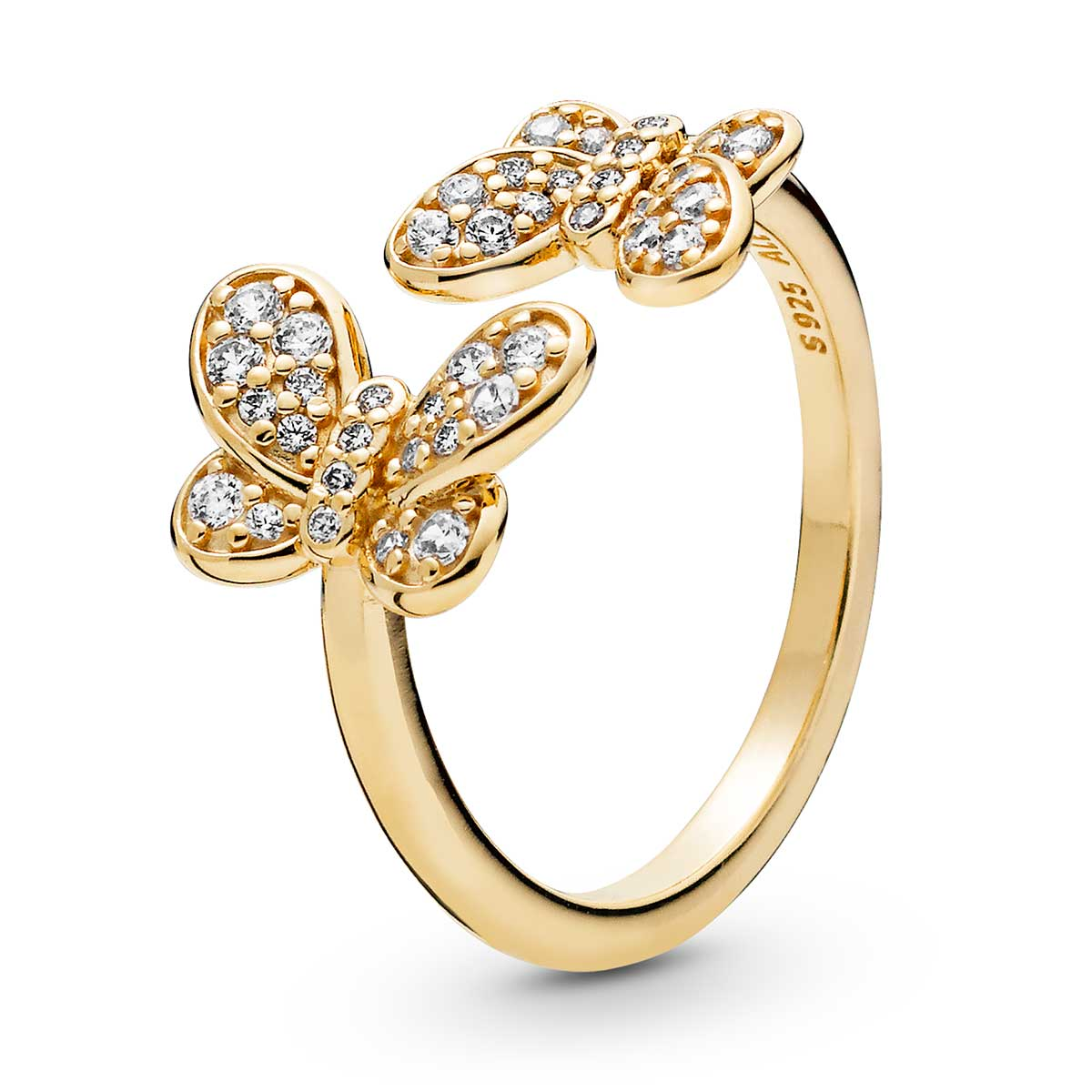 053b3c489 PANDORA Dazzling Butterflies Ring, Pandora Shine™ & Clear CZ: Precious  Accents, Ltd.