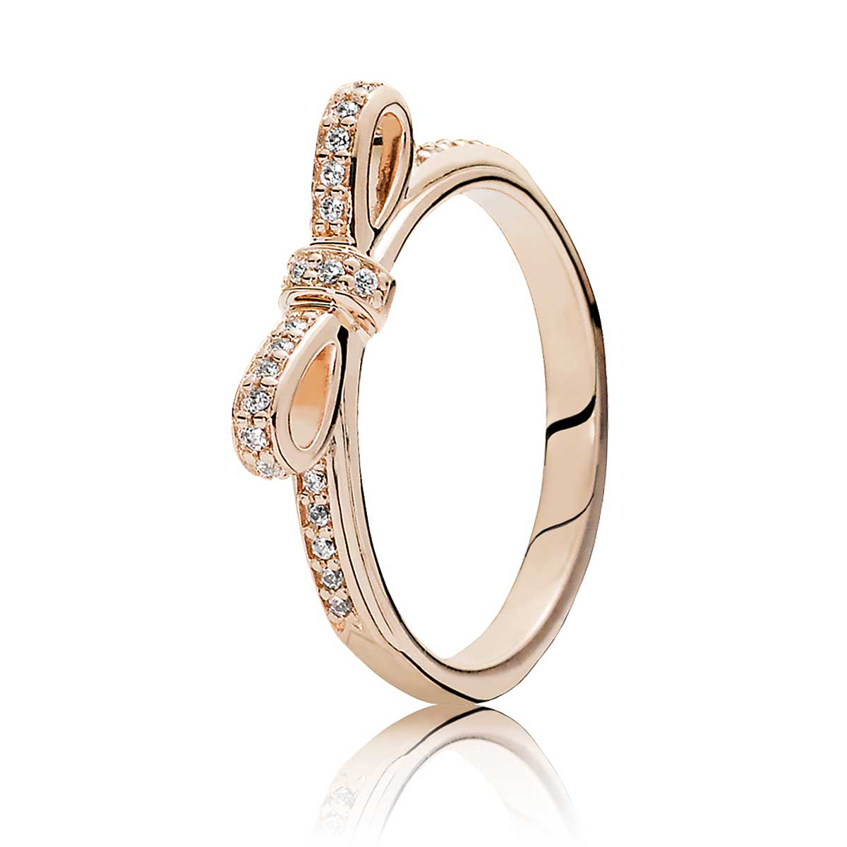 76550cd29 PANDORA Rose™ Sparkling Bow Ring: Precious Accents, Ltd.