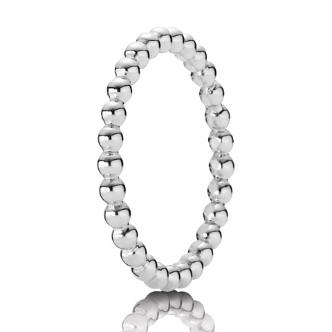 Pandora Silver Eternal Cloud Ring Precious Accents Ltd