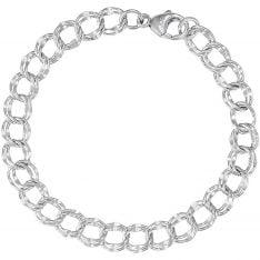 4824f7799fe807 Rembrandt Charm Bracelet, Sterling Silver