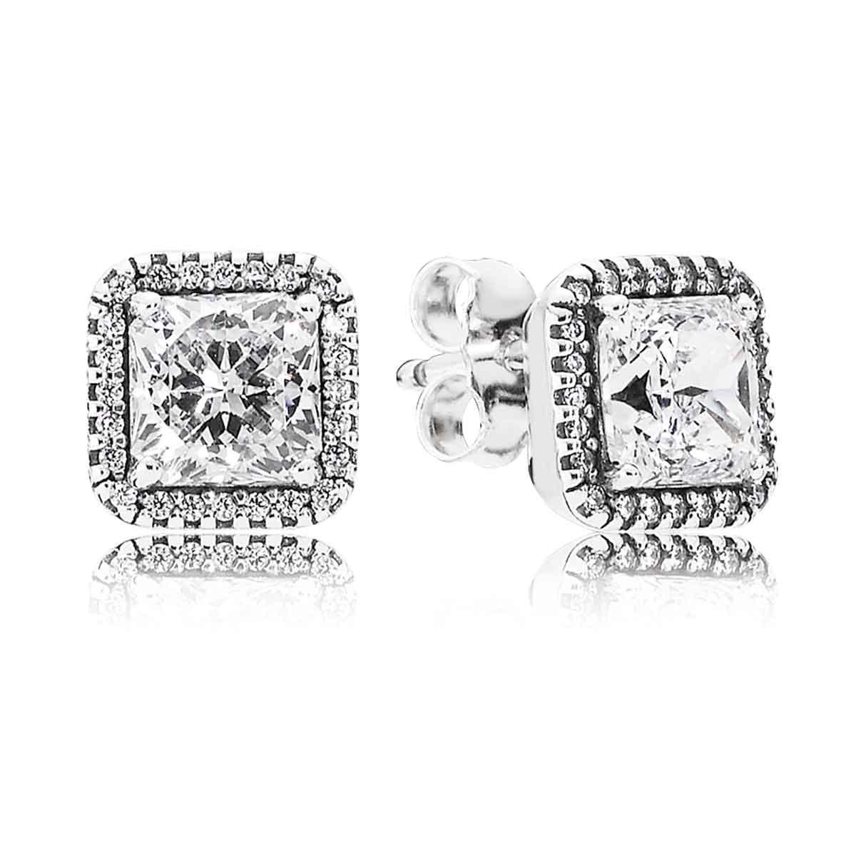 PANDORA Timeless Elegance Earrings: Precious Accents, Ltd.