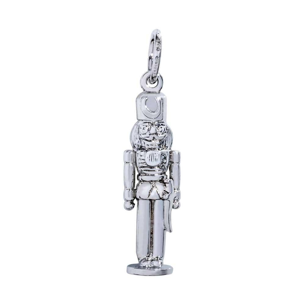 Rembrandt Nutcracker Charm Sterling Silver Precious Accents