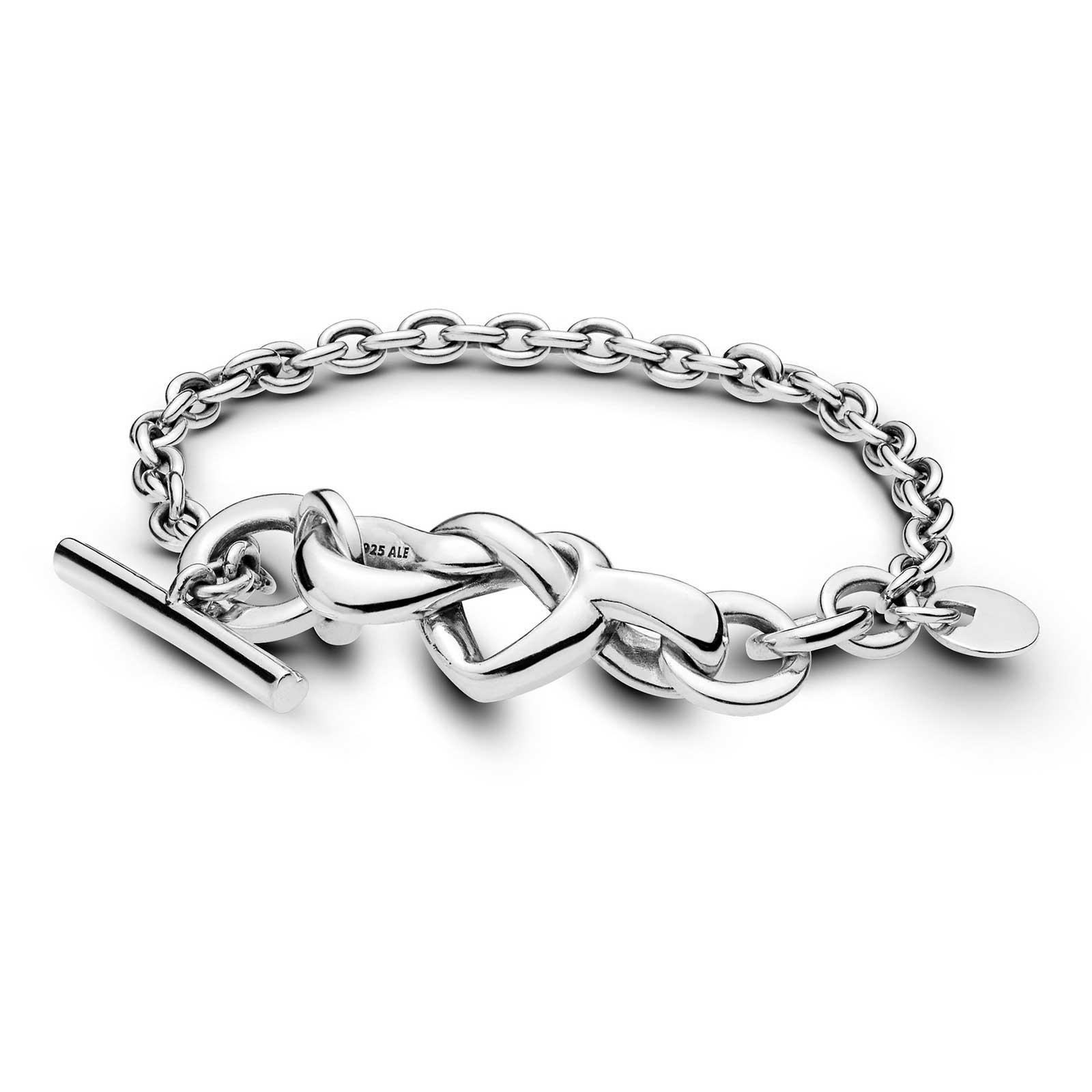 4b648aa5f PANDORA Knotted Heart Bracelet: Precious Accents, Ltd.