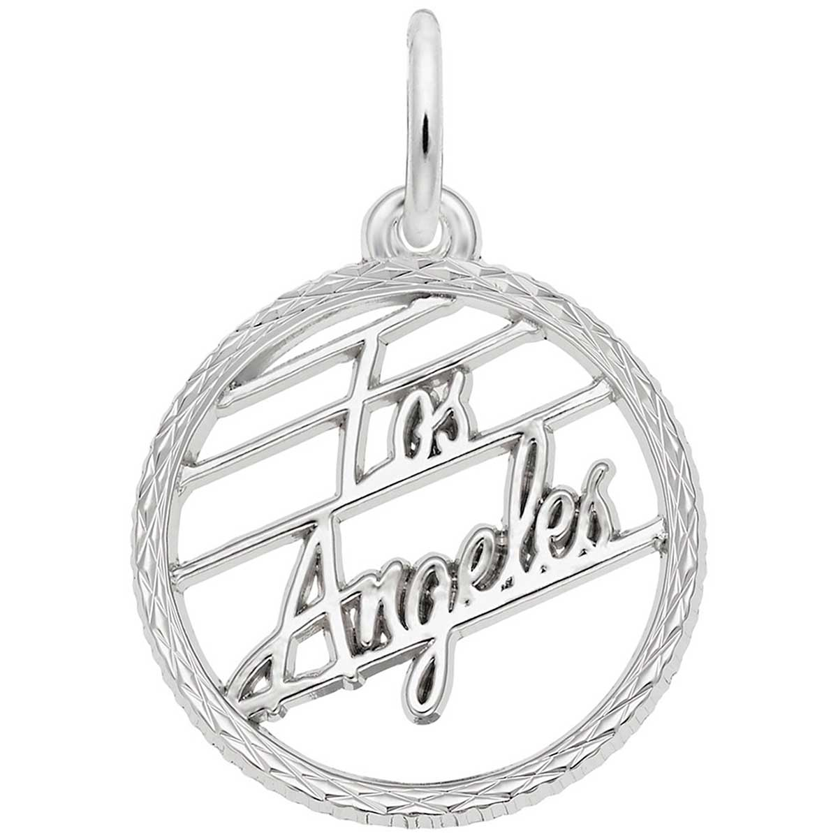 Pandora Jewelry Los Angeles: Rembrandt Los Angeles Charm, Sterling Silver: Precious