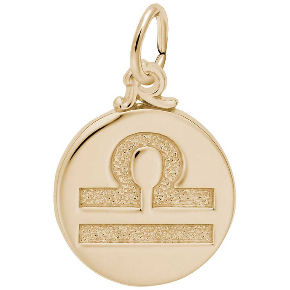 Rembrandt Charms Libra Charm with Lobster Clasp