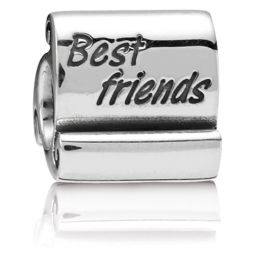 PANDORA Best Friends Scroll Charm