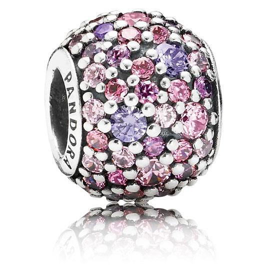 Pandora Purple Pink Pave Lights Precious Accents Ltd