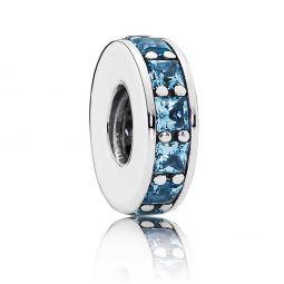 PANDORA Eternity Spacer, Sky-Blue Crystal