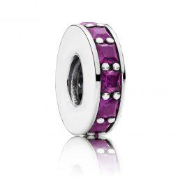 PANDORA Eternity Spacer, Purple Crystal