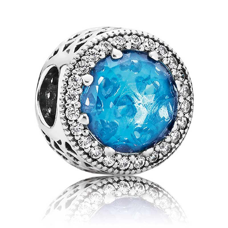 pandora earrings luminous ice sterling silver
