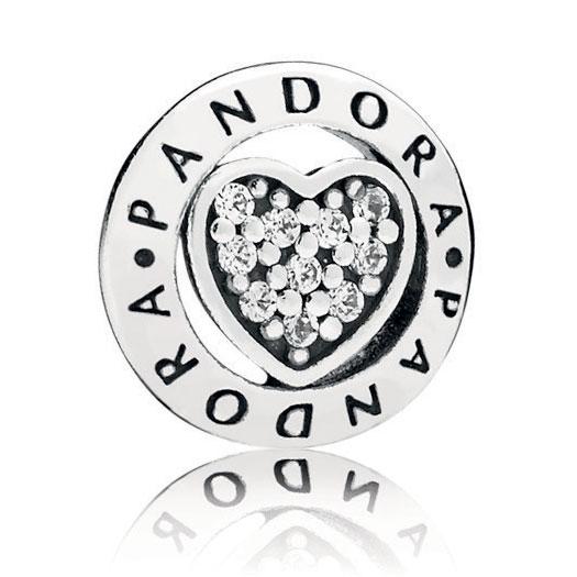 85306823c PANDORA Signature Heart Petite Locket Charm: Precious Accents, Ltd.