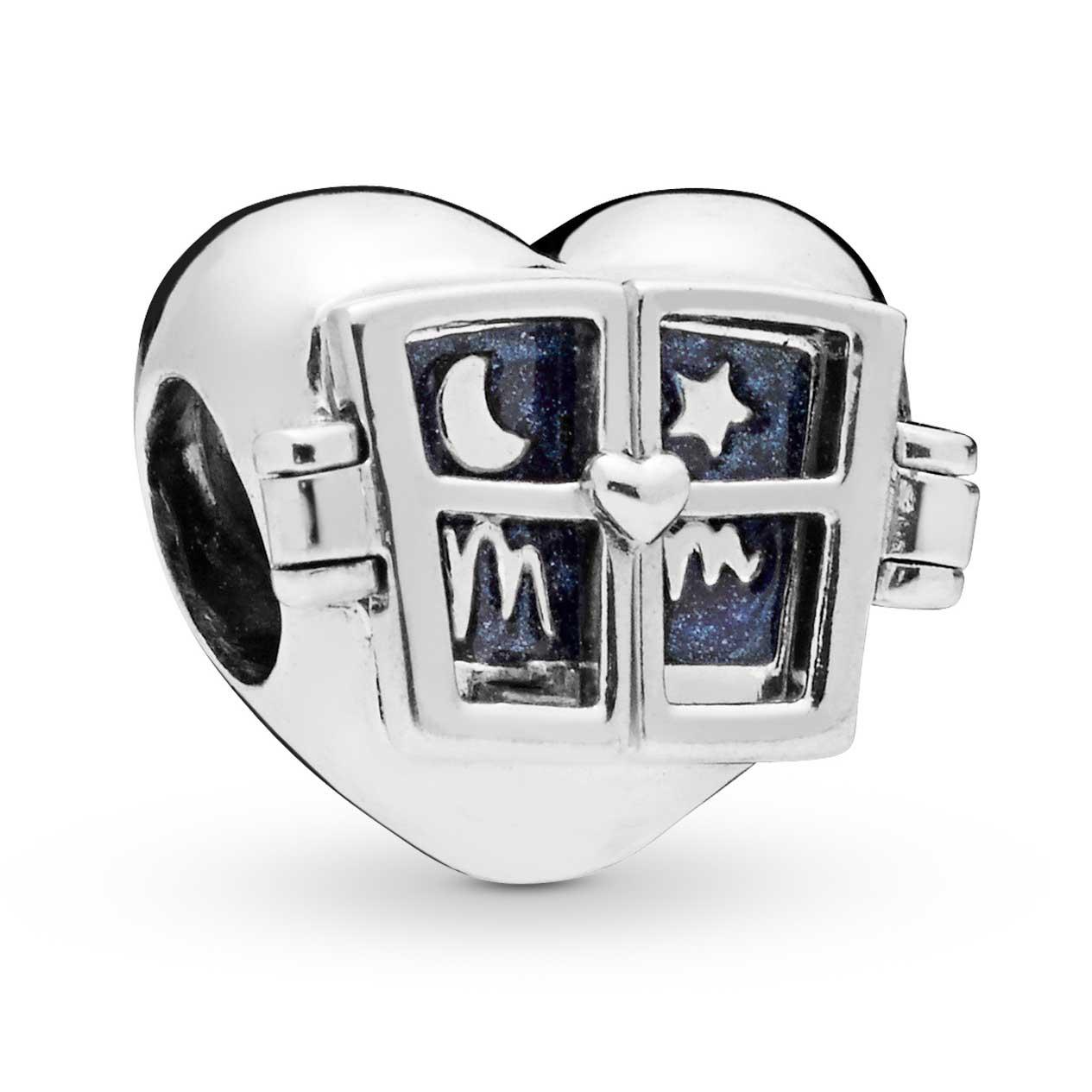e9e55aa00 PANDORA Window Heart Charm: Precious Accents, Ltd.