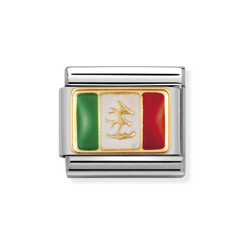 39398a56b13a Nomination Mexico Flag Mix Classic Enamel Italian Charm  Precious ...