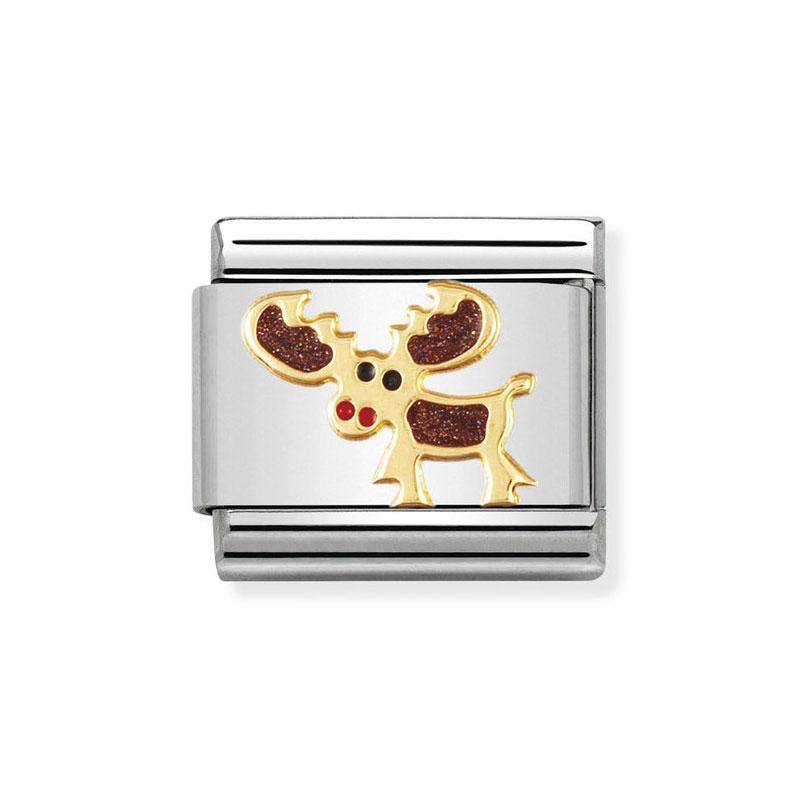 baf20a08af57 Nomination Elk  Moose Mix Classic Enamel Italian Charm  Precious ...