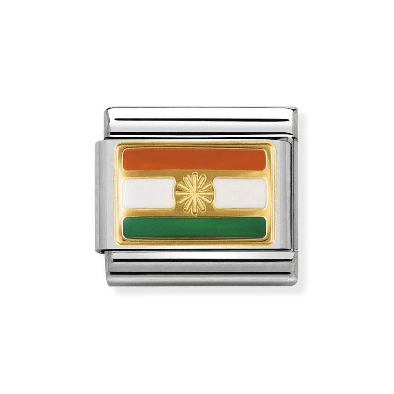 6e3d40eab221 Nomination India Classic Enamel Italian Charm  Precious Accents