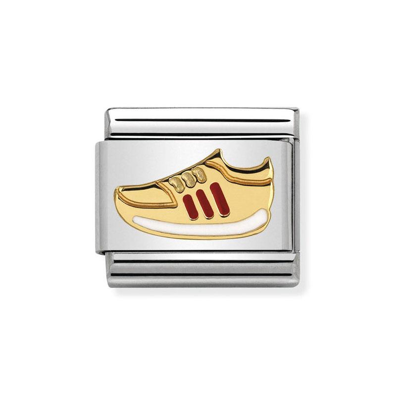 dea45bfbafb4 Nomination Classic Sneaker Red Italian Charm  Precious Accents