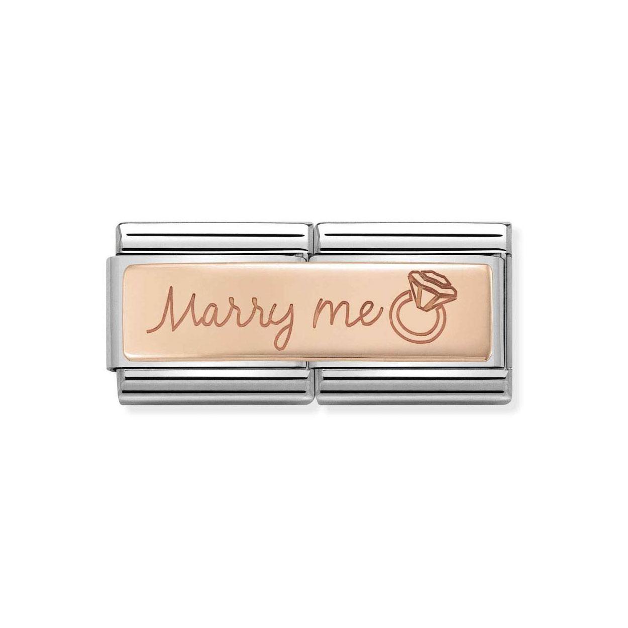 65b131519863 Nomination Classic Marry Me Italian Charm  Precious Accents
