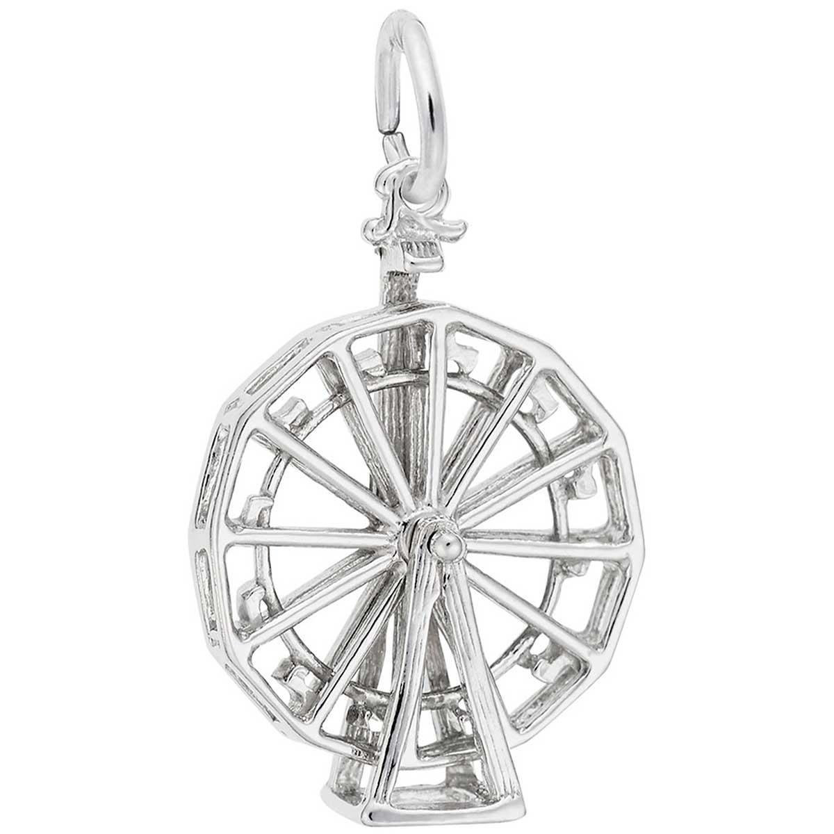 26fd886f6 Rembrandt Ferris Wheel Charm, Sterling Silver: Precious Accents, Ltd.