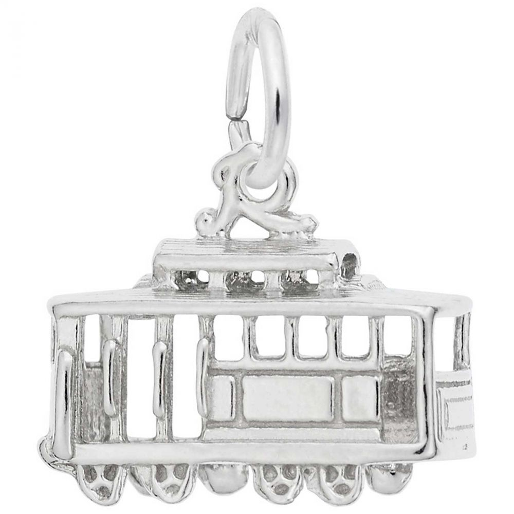 Rembrandt Charms Cable Car Charm with Lobster Clasp
