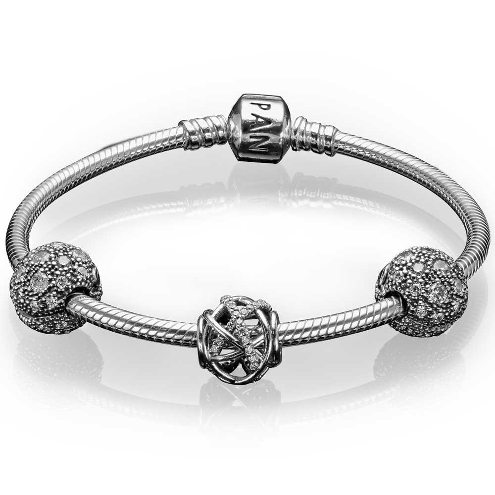 Pandora Charms Bracelets: PANDORA Stargazer Gift Set: Precious Accents, Ltd