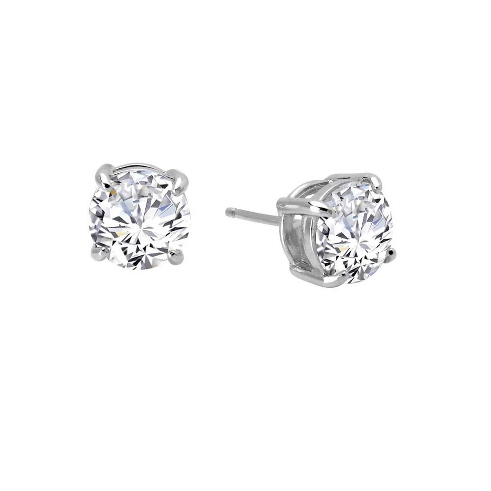 96a49b7da ... Lafonn Round Stud Earrings (4 cttw) Platinum Plated. Tap to expand