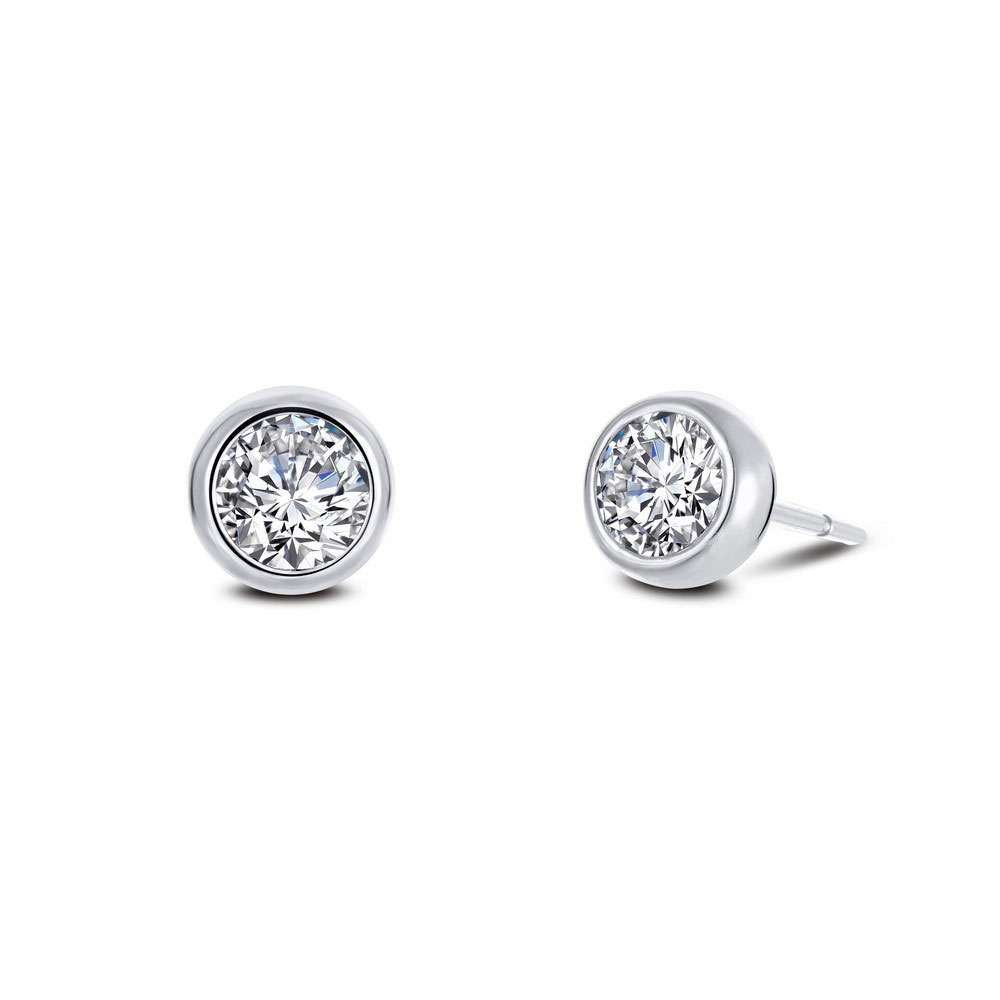 88d3e5a53 ... Lafonn Monte Carlo Platinum-Plated Simulated Diamond Earrings (1.3  CTTW). Tap to expand