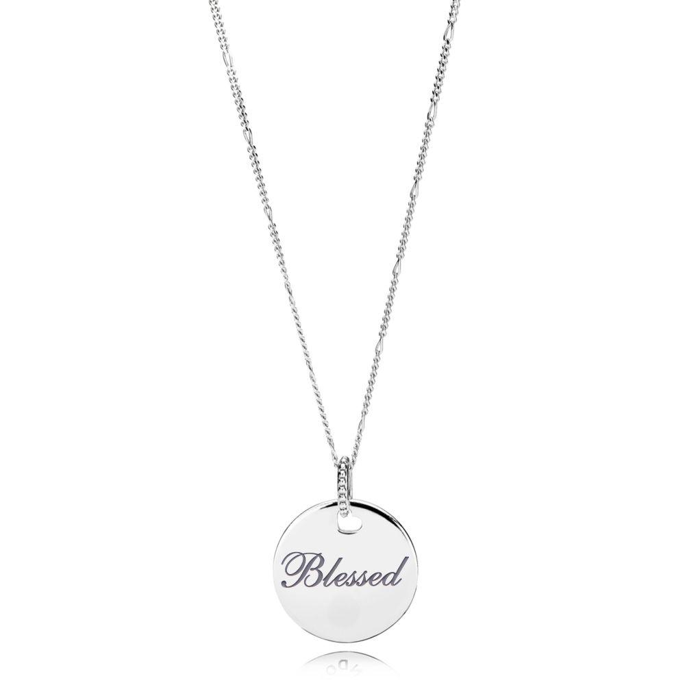 DiamondJewelryNY Sterling Silver Rhodium-Plated Square Gray Ice Cz Pendant