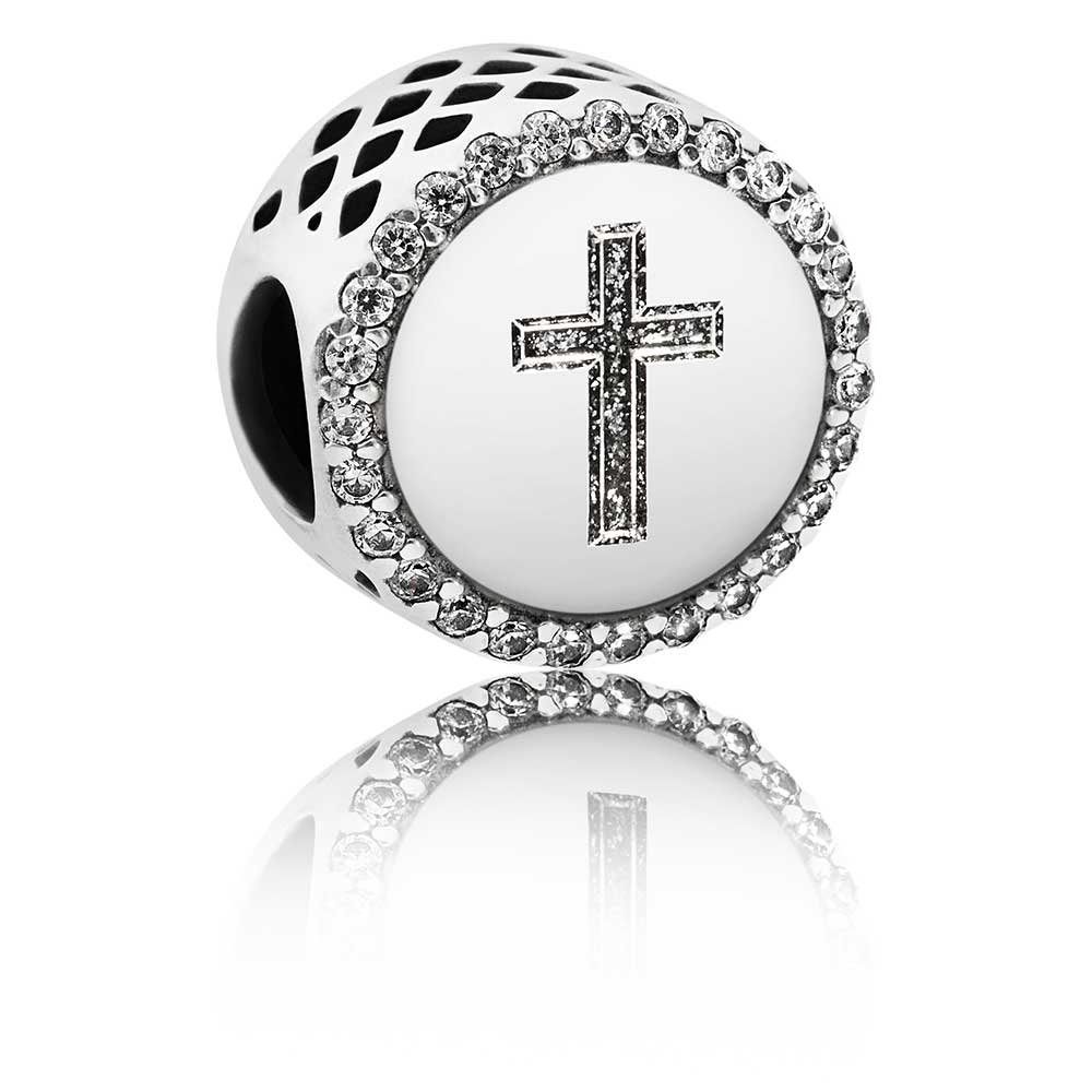 53b857431 ... Autumn 2017/; PANDORA Faith Cross Charm. Tap to expand