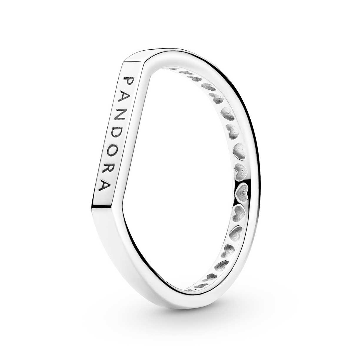 pandora logo bar stacking ring precious accents ltd pandora logo bar stacking ring