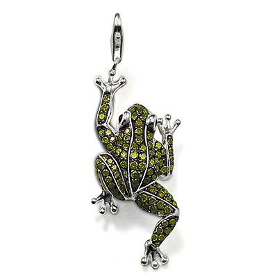 pendant by slack emeralds frog large llc enameled international product