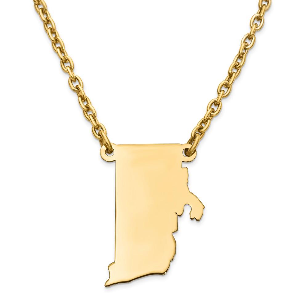 Dogeared Rhode Island Necklace