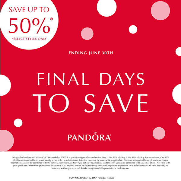 1041e1fa5 Buy 1, Get 30% off; Buy 2, Get 40% off; Buy 3, Get 50% off Select PANDORA  Styles! Use Coupon ...